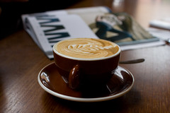 Flat white from St Ali (Abstract Gourmet) Tags: coffee cafe melbourne southmelbourne stali