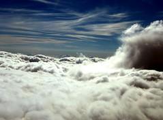 war in heaven (FriaLOve) Tags: blue sky white plane war heaven dramatic warinheaven picturefantastic