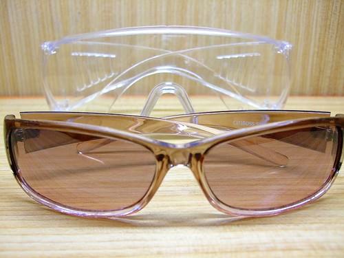 防風鏡+太陽眼鏡