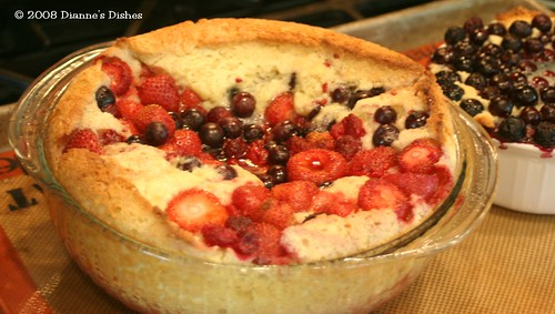 Tuesdays With Dorie: Mixed Berry Cobbler