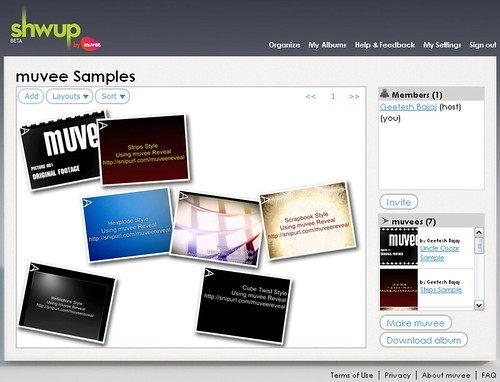 Shwup.com from muvee