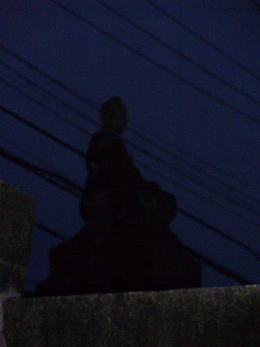 Darker Buddha (?) by dusk