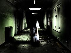 niña fantasma