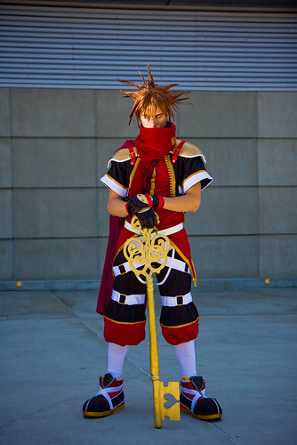 Kingdom Hearts Sora Cosplay Fotos