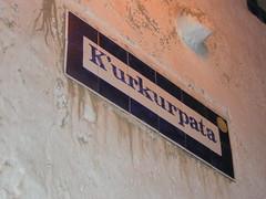 Quechua street names