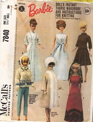 barbie mccalls (lorryx3) Tags: vintage barbie barbiepattern