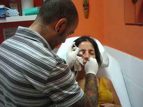 piercing en la nariz. Piercing nariz en Pupa tattoo