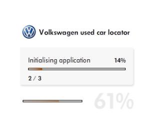VW used car search