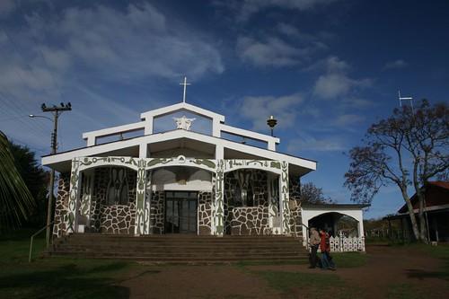 Hanga Roa Catholic Church, Rapa Nui.