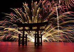 Miyajima Water FireworksWorldheritage (h orihashi) Tags: reflection japan night catchycolors landscape perception gate shrine pentax fireworks firework hiroshima miyajima  torii soe hanabi  globalvillage worldheritage amazingcolors itsukushima     blueribbonwinner   mybestphotos supershot flickrsbest bej passionphotography fineartphotos golddragon mywinners abigfave k10d pentaxk10d platinumphoto anawesomeshot impressedbeauty aplusphoto flickrhearts diamondclassphotographer flickrdiamond superhearts lunarvillage citrit excellentphotographerawards heartawards theunforgettablepictures betterthangood justpentax theperfectphotographer goldstaraward photosexplore hatsukaichishi rubyphotographer 469photographer damniwishidtakenthat mikesdance photographersgonewild colorphotoawardpremier superbestshotsonflickr