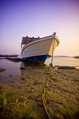 Hooooold (Khaled A.K) Tags: sunset colors photography boat sand rope sa jeddah cp saudiarabia khaled circularpolarizer ksa saudia nd8 nd4 aplusphoto holdd kashkari goldenvisions