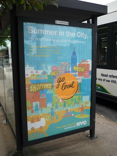 Even NYC wants you to go local