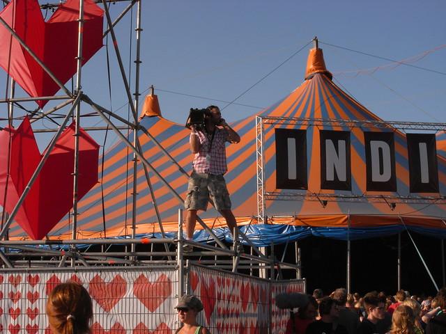 cameraman @ Lowlands 2008