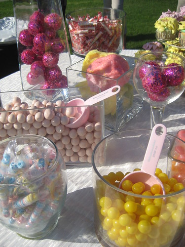 Liz 39s Wedding Shower candy buffet