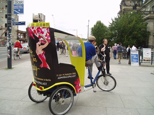 Berlín transporte turístico en bici