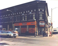 This undated photo shows the Prentice building at 2306-18 S. KK before Doyle renovated it for the Sixteenth Street. (Photo courtesy Bill Doyle)