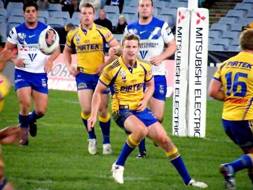 Parramatta Eels Halfback Brett