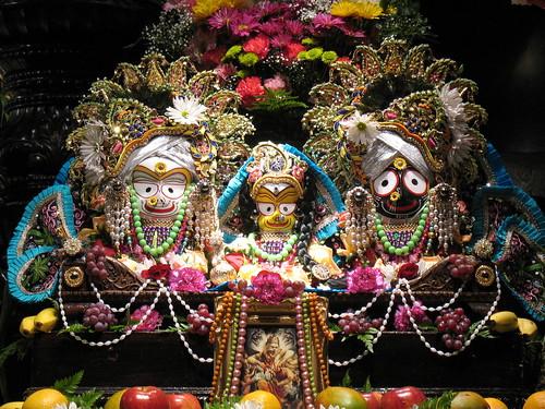 Sri Sri Jaganatha, Baladeva, Subhadra por NityanandaChandra.