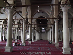 Interior of the Mosque of Amr ibn al-As (Metal Traveller) Tags: mosque cairo amr egyprt amribnalas