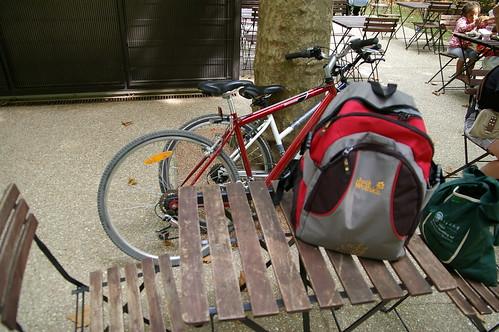 蘇鎮公園 24 - 後來到公園的販賣部休息一下 喝個coffee
