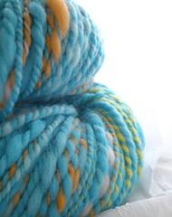 snocone - handspun yarn
