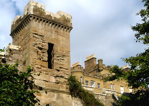 Tower at the castle garden