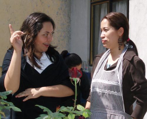 Doña Edu y su comadre