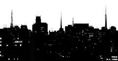 skyline #1 (Ana Luz) Tags: city light cidade brazil white black building luz branco arquitetura skyline night dark ana preto vista noite paulo são escuro analuz edifícios