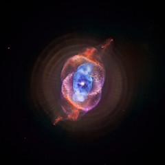 NGC 6543: The Cat's Eye Nebula Redux (Also known as the Cat's Eye, this planetary nebula is located about 3,000 light years from Earth.)