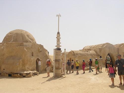 La aldea de Tatooine