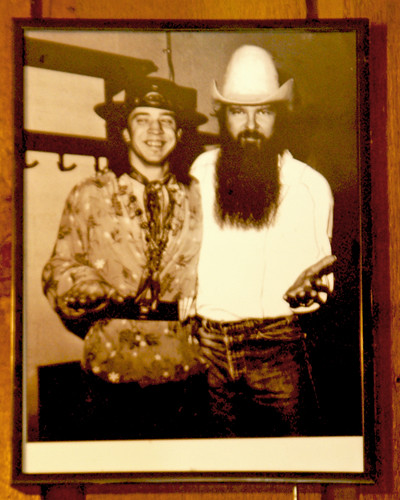 Stevie Ray Vaughan and Billy Gibbons