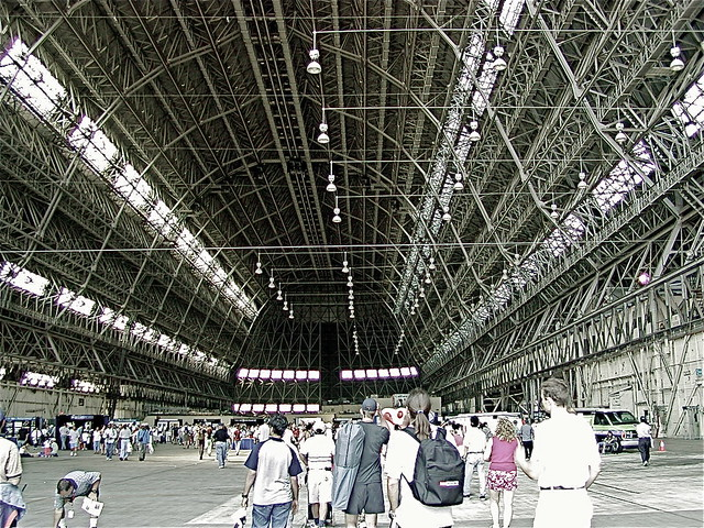 Hanger one, Moffett Field, Mountain View CA