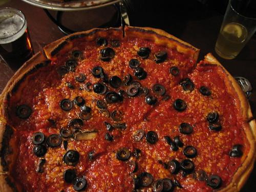 Paxti's original pizza
