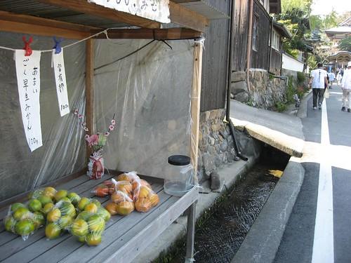 八坂寺へ向かう道