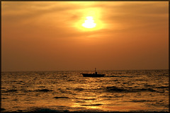 Sunset-Boat (garyclicks) Tags: travel light sunset shadow sea wallpaper favorite beach nature beautiful night poster daddy fun gold evening boat kid colorful dad play father goa daughter scenic running run palmtrees jogging jog beachsunset beautifulsunset beautifulevening indianbeach colorfulclouds photoaward colorphotoaward sunsetwallpaper boatinthesea wallpapersunset goanheritage blinkagain thegoanheritageindia wallpapertravelbeachwaterpeople