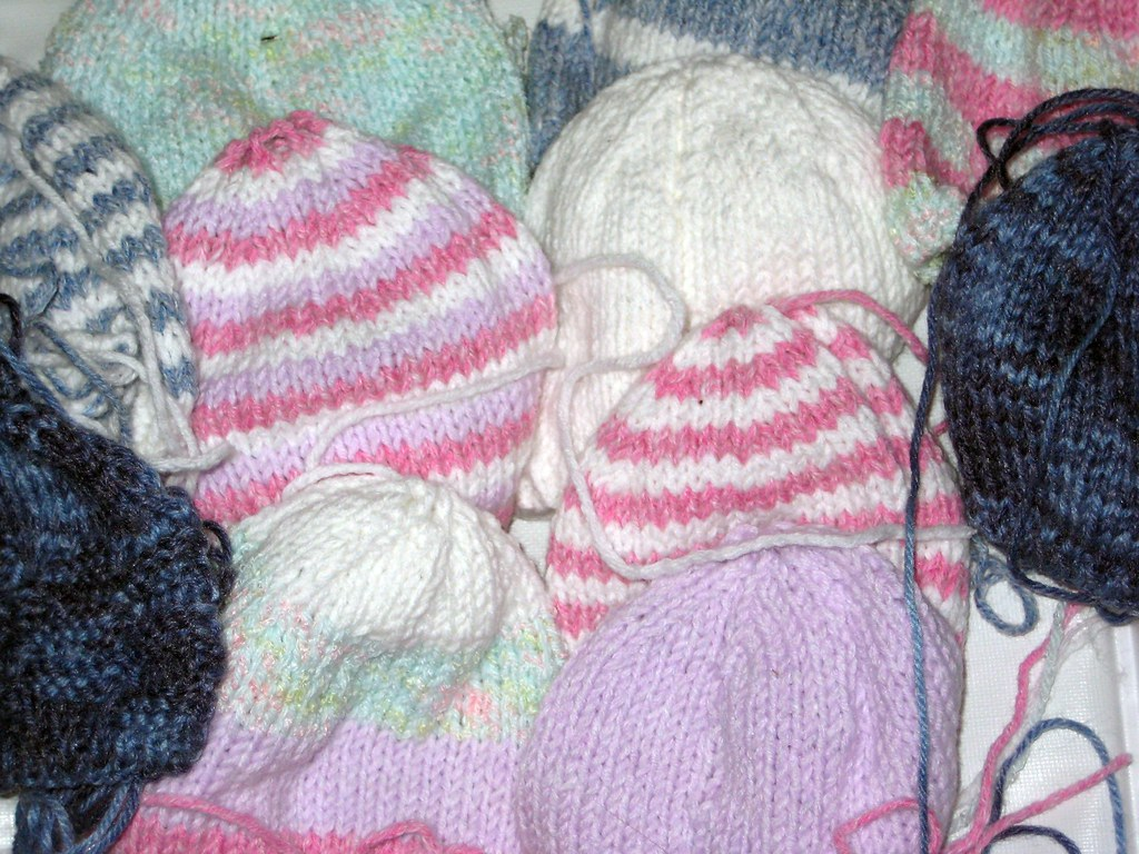Hats for premature babies