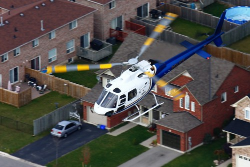 Ontario Provincial Police Helicopter C-FOPS
