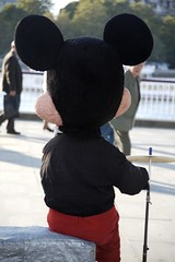 Behind Micky (by Steve Weaver)