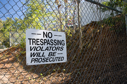 Is This A License To Trespass?
