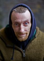 Homeless Man (Rupe) Tags: leica london southbank m8 homelessportraitnoctilux