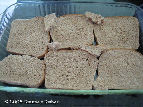 Breakfast Casserole: Bread