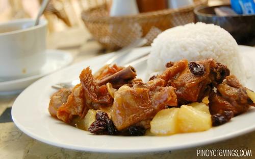 Spicy Chicken al Tahiti @ Mango-Ray Bar and Restaurant