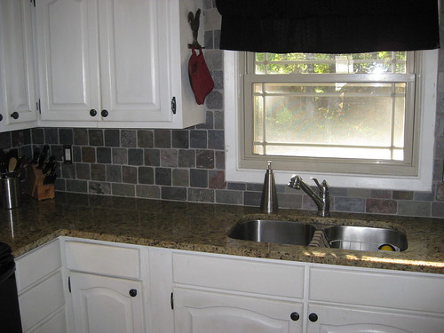 Kitchen backsplash by suzytrotta.