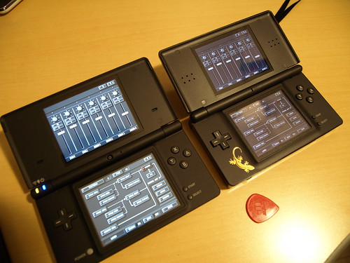 DSi and DS Lite on KORG DS-10