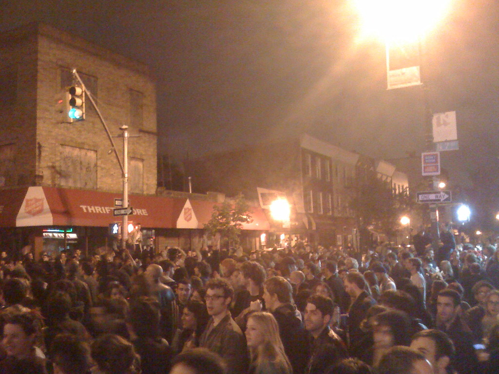 obama wins! williamsburg celebrates!