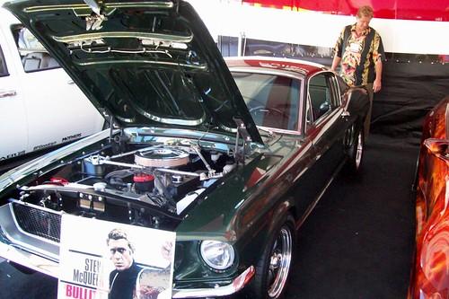 Steve McQueen's Mustang from Bullitt
