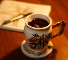 A Cuppa Teanno (Ginkgo7) Tags: blur canon tea bokeh testing123 50mm18 wasteofmoney bloggedit 10dollarmug ihaveenoughmugs