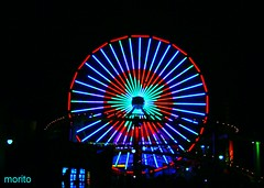 EXPLORE  2008-11-09   #67 . FAIR WHEEL ,SANTA MONICA PIER (morito36pa) Tags: california santamonica piers explore beaches ferriswheel southerncalifornia santamonicapier santamonicabeach whell playas puertos santamonicapiercalifornia santamonicacalifornia colourartaward santamonicaferriswheel playadesantamonica morito36pa fairwhell moisesrivas morito36 morito36paexplore moritosexplore