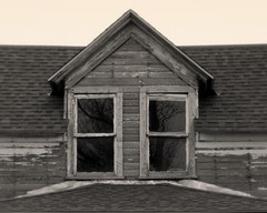 What Do You See In The Window? (gebodogs) Tags: house haunted oldhouse wyoming dilapidated deaver