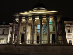 National Gallery at night (5) London